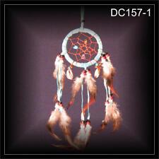 Traumfänger bunt 6x25 cm  Perlen Glitzer Federn Indianer GuteTräume Kind NEU!