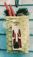 Basket Weaving Pattern Colonial Candle Basket by Maurine Joy