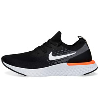 NIKE EPIC REACT FLYKNIT Running Trainers Gym Casual - Black - UK Size 10 (EU 45)