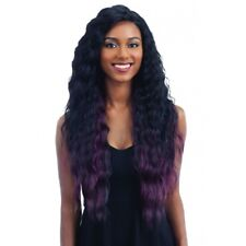 FREETRESS PREMIUM SYNTHETIC V SHAPED LACE FRONT WIG V-001 (V001) #1B(Off Black)