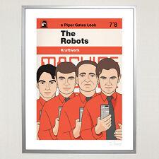 Kraftwerk Ltd Edition 30 x 40 cm Print Krautrock Synth Moog Ralph Florian