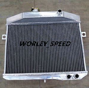 Aluminum Radiator For Volvo Amazon P1800 B18 B20 Engine GT 1959-1970 MT 3Core