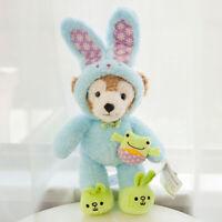 New Disney Easter Duffy Bear cosplay blue Bunny Plush Toy