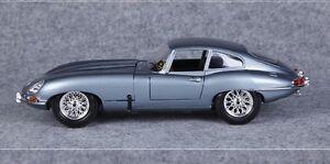 Brand new Bburago 1:18 Jaguar E-type coupe die-cast model sports car with box