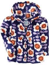 Nwt 12-18 Mon Adorable Old Navy Babydoll Fleece Hoodie Sweater Top Purple Orange