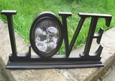 LOVE PHOTO FRAME-Nero Stile Vintage-SHABBY CHIC LOVE Photo Frame