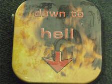 Hama 11658 Down To Hell  Tin Storage Case CD DVD Metal