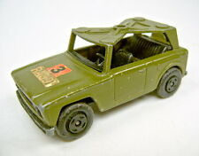 Matchbox Superfast Nr.18A Field Car militärolivgrün bespielt
