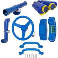 SWING SET STUFF DELUXE ACCESSORIES KIT BLUE playground fort hardware park 0245