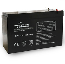 12V 7Ah Sealed Lead Acid Alarm Security AGM Battery 1270 1272 <7.2 7.5Ah NESS