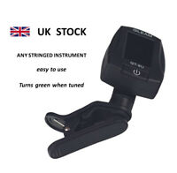 Clip on Digital Tuner Chromatic for Ukulele Acoustic Electric Guitar Bass Head