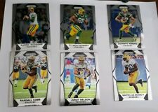 2017 Panini Prizm 6 Card Packers Team Set Rodgers