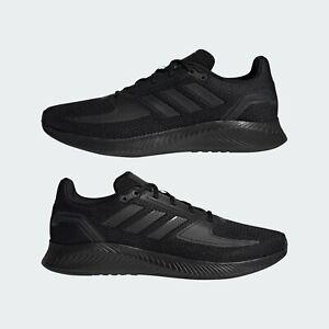 Mens Adidas RunFalcon 2.0 Black Sport Sneaker Athletic Shoe G58096 Sizes 8-13