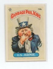 U.S. Arnie Garbage Pail Kids Card # 110 B   NEXT DAY SHIP AFTER PAYMENT