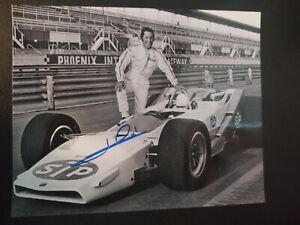 AUTOGRAPHED Mario Andretti 8x10 Racing Legend Indy Car STP Photo