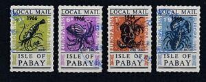 Cendrillon Isle Of Pabay Hummer Europe 1966 - 4 Valeurs Oo