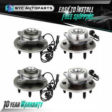 2x Front + 2x Rear Wheel Hub Bearing for 2003-2006 Ford Expedition Navigator 4Wd