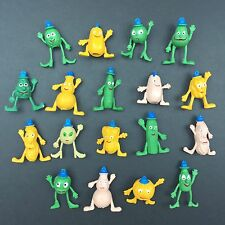 RARE Lot Of 18 Vintage 1970's Munch Bunch Vegetable Pencil Eraser Toppers