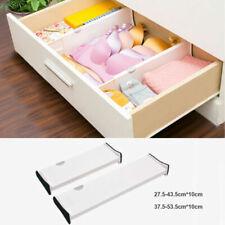 6X Adjustable Drawer Divider Partition Storage Organizer Clapboard Expandable