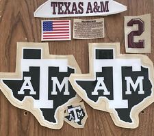 A&M  BLACK SHIRT NIGHT F/S with Texas award decal RXX