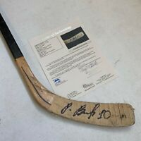 Pavel Bure Signed 1992-93 Game Used Hockey Stick Vancouver Canucks JSA COA
