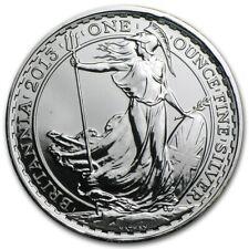 1 oz silver Britannia 2013 Privy Snake BU