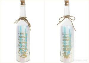 LED Light Up Firefly Bottle Fairy  & Mermaid