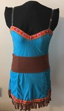 Dreamgirl Women's Dream Catcher Costume Halloween Indian 4 Pc Set Size Medium