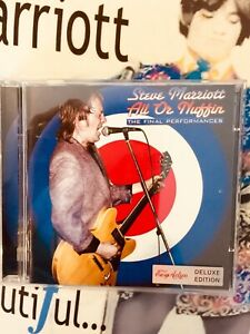 STEVE MARRIOTT 2CD Set.  BRAND NEW sealed His last Live Performances. Booklet.