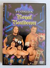 NWA FLORIDA Royal Beatdown RAVEN JERRY THE KING LAWLER NEW wwe tna