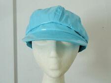 Light Turquoise Blue Newsboy Modboy Cabbie Fashion Hat Cap Women's One Size