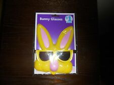 Novelty Yellow Bunny Glasses~New~Fast Shipping!
