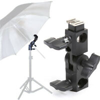 Hot Shoe Flash Light Umbrella Bracket Holder for Canon Nikon Yongnuo Speedlight