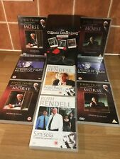 The Classic Detectives Collection ITV 8 Dvd Box set Morse Frost Wexford