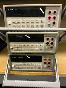 AGILENT HP KEYSIGHT 34401A 6.5 DIGITAL BENCHTOP MULTIMETER