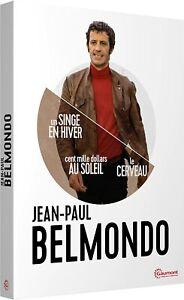 Coffret DVD Neuf / Coffret Jean-Paul Belmondo : Un Singe En Hiver / Cent Mille D