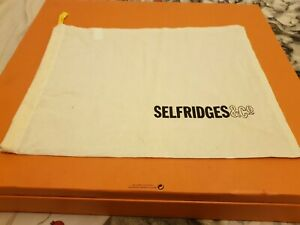 Selfridges, Dust Bag, Size: 355x290mm, Used nice condition