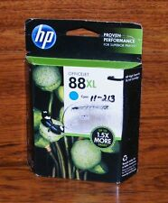 Genuine HP 88 (C9391AN) XL OfficeJet Cyan Ink Cartridge *Sealed in Box* EXPIRED