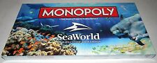 New Sea World Monopoly Wildlife Conservation Edition Game Factory Sealed