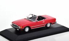 1:43 Minichamps Mercedes 350 SL R107 1974 red