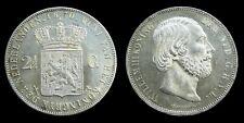 Netherlands - 2½ Gulden 1870 vrijwel UNC