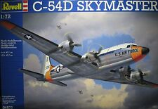 1/72 Douglas C-54D Skymaster Model Kit By Revell Models