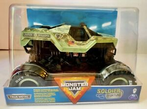 Hot Wheels Monster Jam Soldier Fortune Die-Cast Vehicle 1:24 Scale NEW