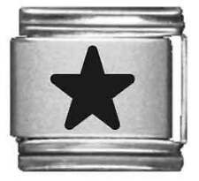 Clearly Charming Star Laser Italian Charm