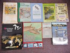 Fishing Anglers Guides Fly Jerry Kustich Roederer Trout Woolly Worms 9 books