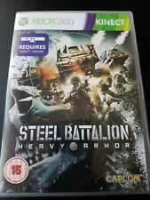 Steel Battalion Heavy Armor Microsoft Xbox 360 Mint Complete Condition