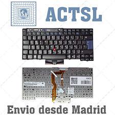 IBM Lenovo T400s T410 T510 W510 X220 tablet TECLADO ESPAÑOL SP 45N2170 45N2135