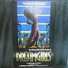 "Dreamgirls Theater Broadway Window Card Poster 14"" x 22"""