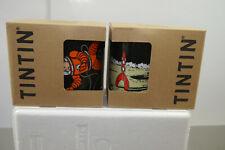 Tim Struppi Tintin Haddock Spacewalk + Cohete Tazas Set 2 Piezas Porcelana (L)