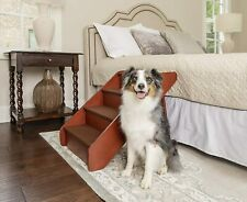 Wood Pet Stairs for Dogs and Cats, Foldable - X-Large